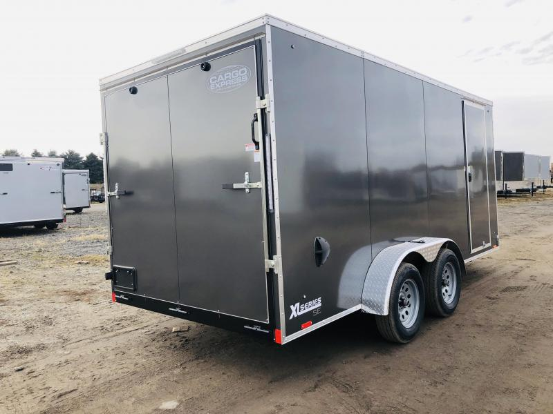 2020 Cargo Express 7x16 Enclosed Cargo Trailer