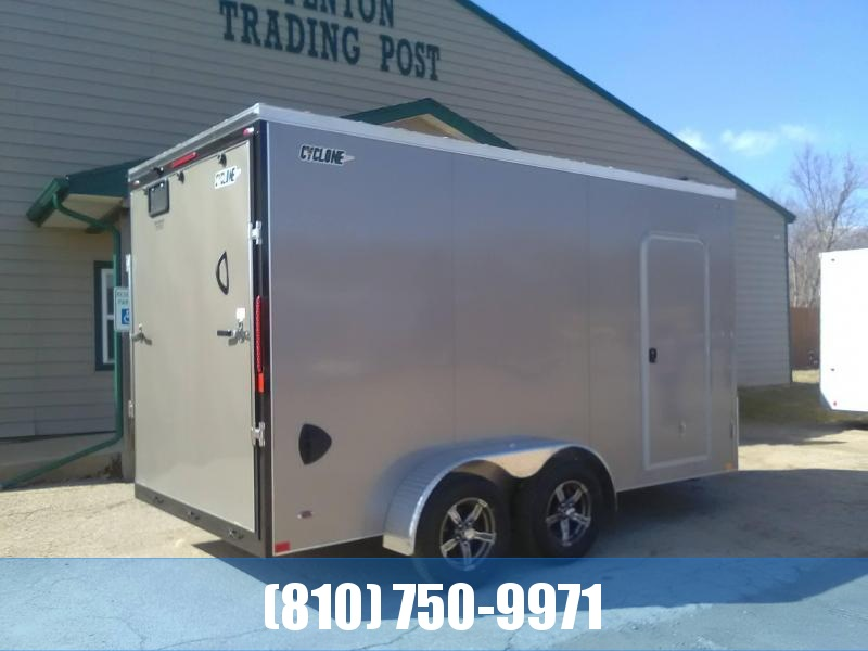 2020 Legend Manufacturing 7x16 Cyclone Enclosed Cargo Trailer