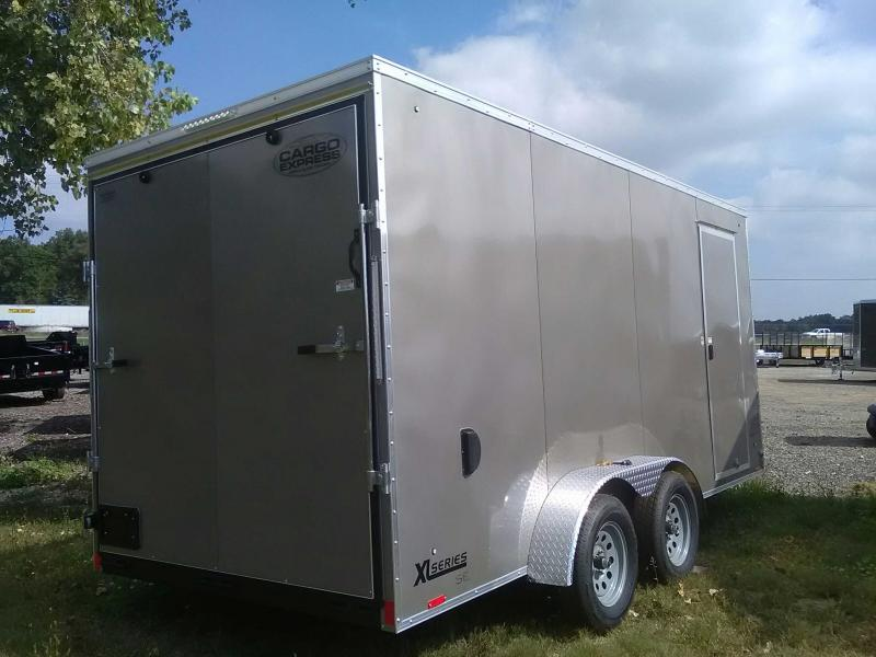 2020 Cargo Express 7x16 Enclosed Trailer