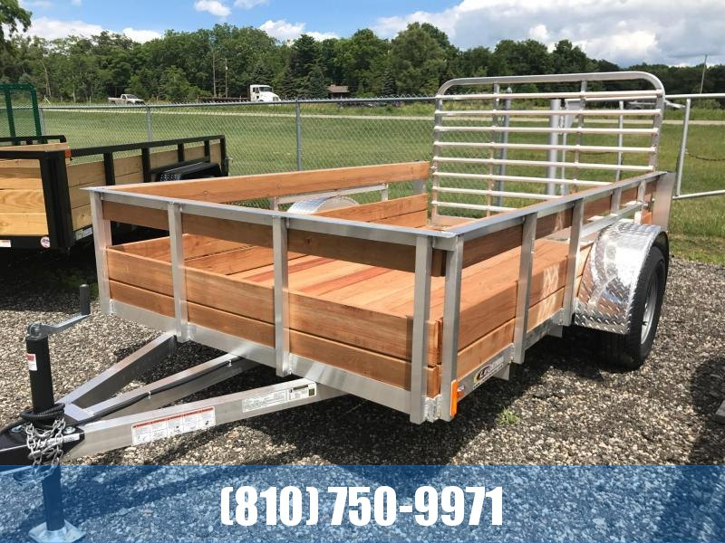 2020 Legend 6x10 3-Board High Side Utility Trailer