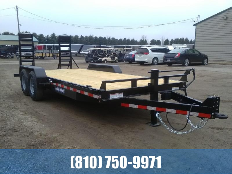 2020 Sure-Trac 7 X 18 14K Implement Equipment Trailer