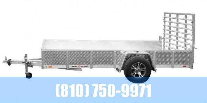 2020 Sport Haven AUT 610DS Utility Trailer