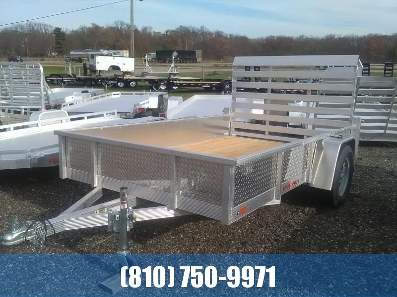 2020 Sport Haven 6x10 Aluminum Utility Trailer with Sides
