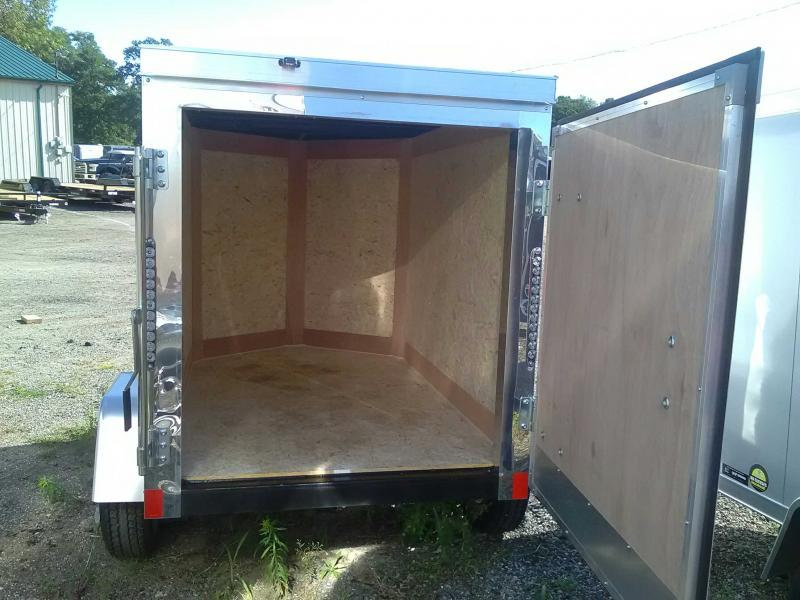 2020 Cross 4x6 Enclosed Trailer
