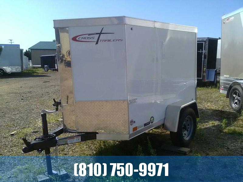 Cross Trailers 4x6 Enclosed Cargo Trailer