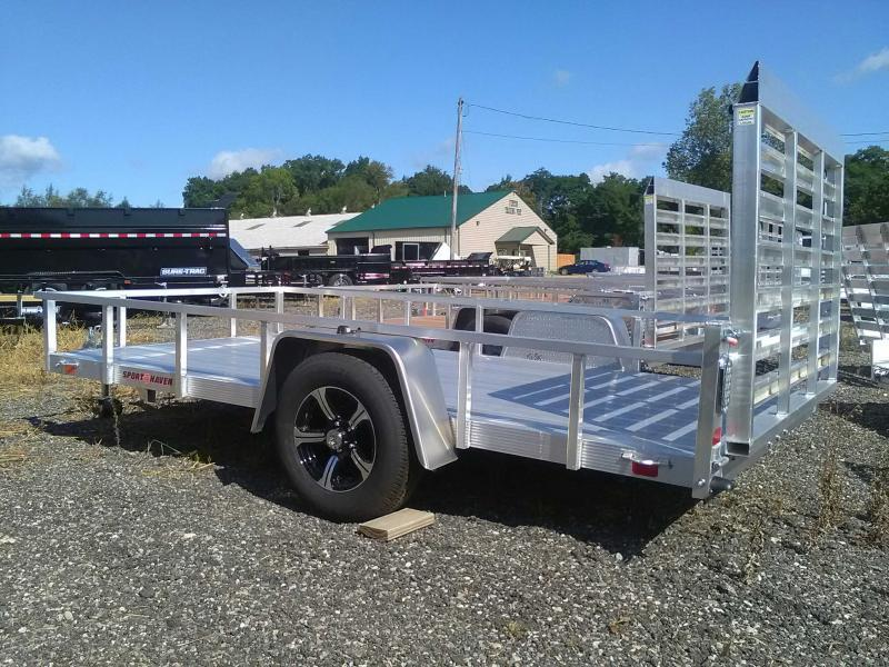 2020 Sport Haven 6x12 All-Aluminum Utility Trailer