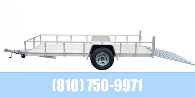 2020 Sport Haven 6x12 Aluminum Utility Trailer