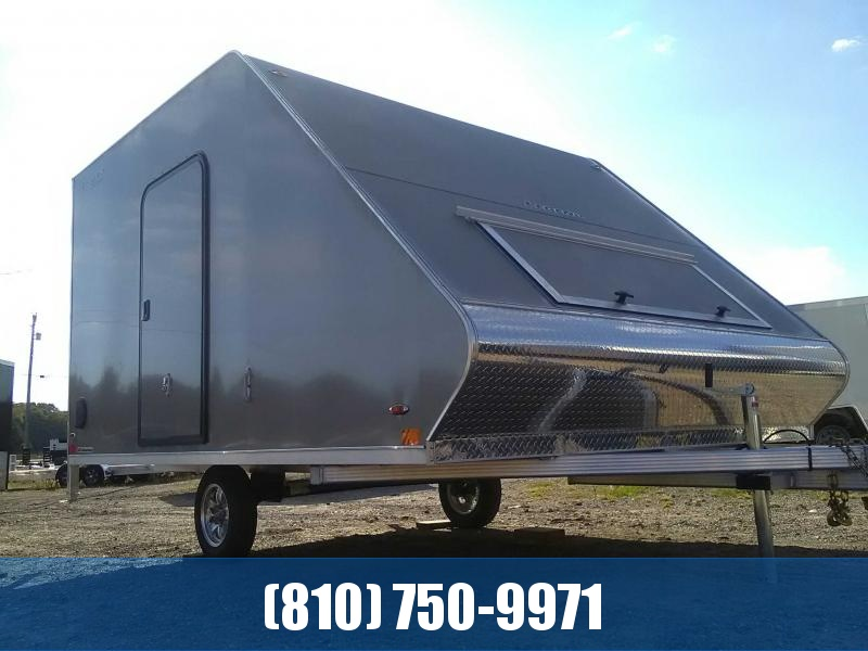 2020 Legend SL8.5X13SA30 Hybrid Snowmobile Trailer