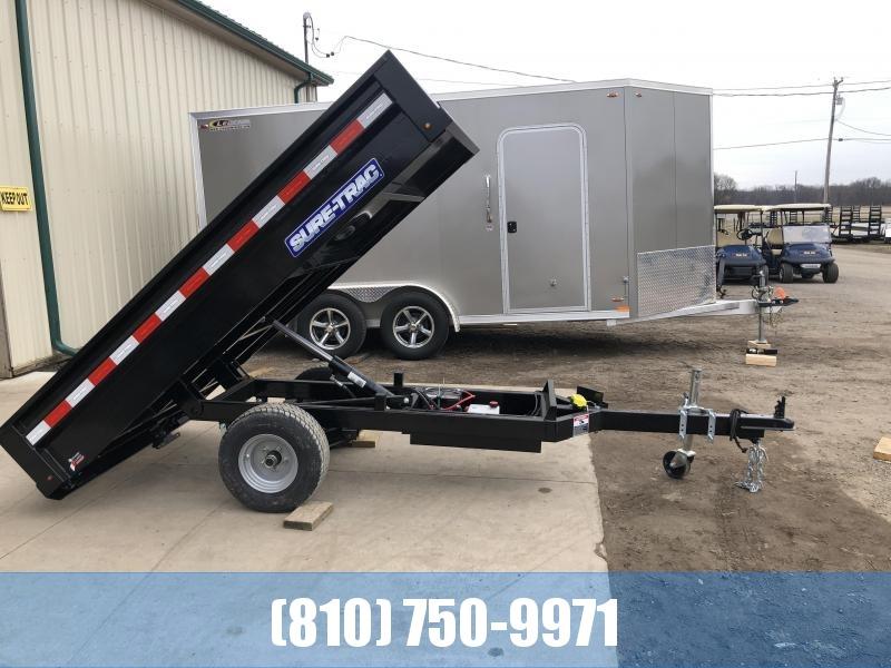 2020 Sure-Trac 4.5 X 8 Utility Dump Trailer