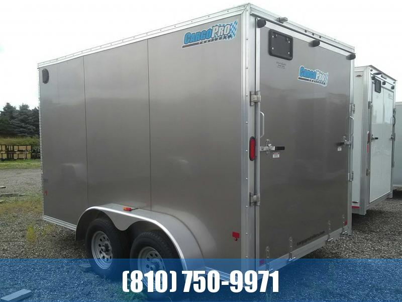 2018 Cargo Pro 7x12 Enclosed Aluminum Cargo Trailer