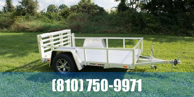 2020 Sport Haven 5x8 All Aluminum Utility Trailer