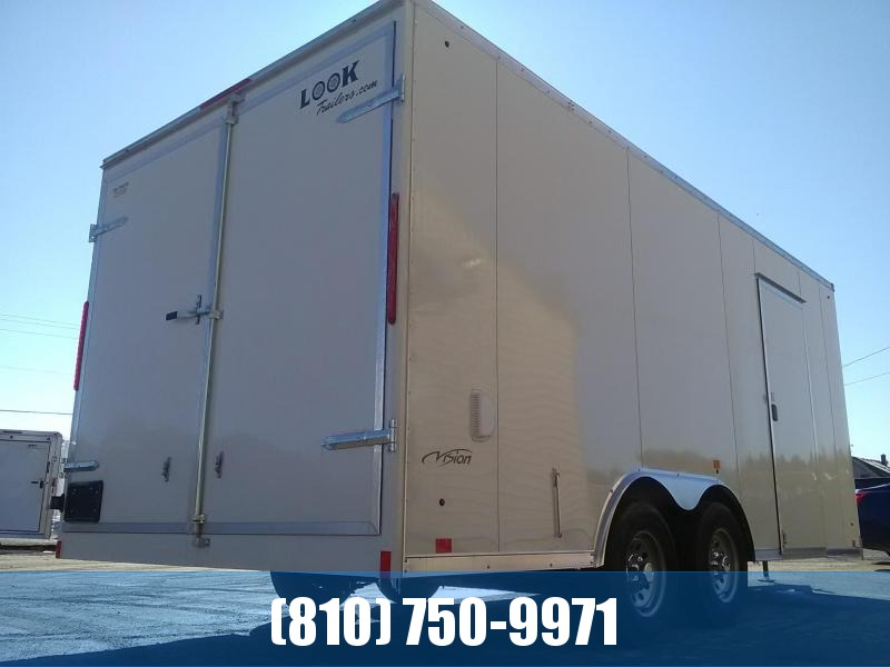 2020 Look Trailers 8.5x18 Enclosed Cargo Trailer