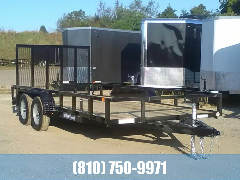 2020 Sure-Trac 7 X 16 Tube Top Utility  7K Tandem