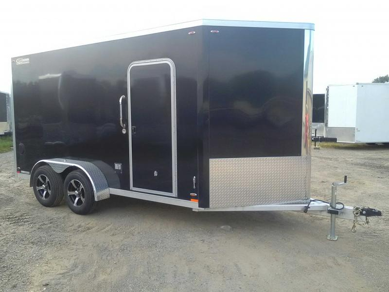 2019 Legend 7x17 FTV All Aluminum Enclosed Trailer