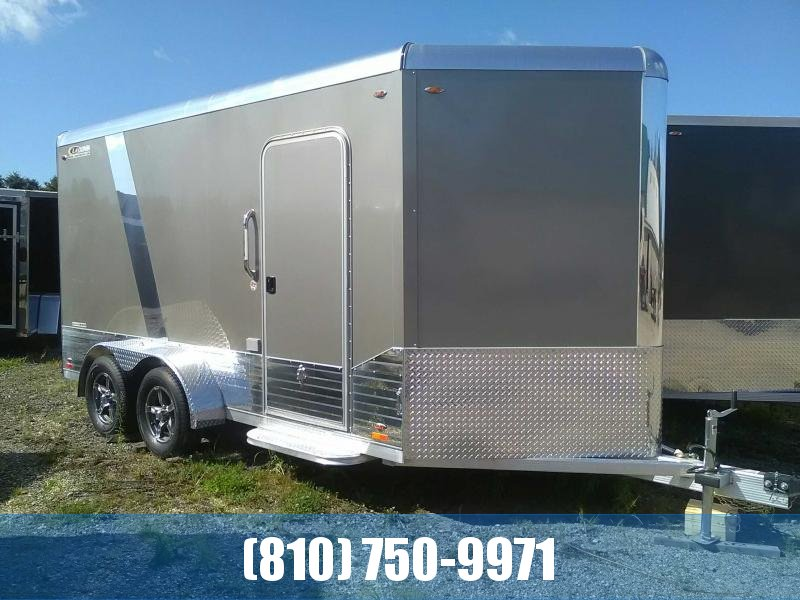 REDUCED PRICE 2019 Legend 7x17 Deluxe V-Nose Aluminum Enclosed Trailer