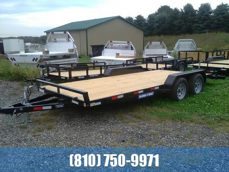 2020 Sure-Trac 7 X 20 Wood Deck Car Hauler  7k