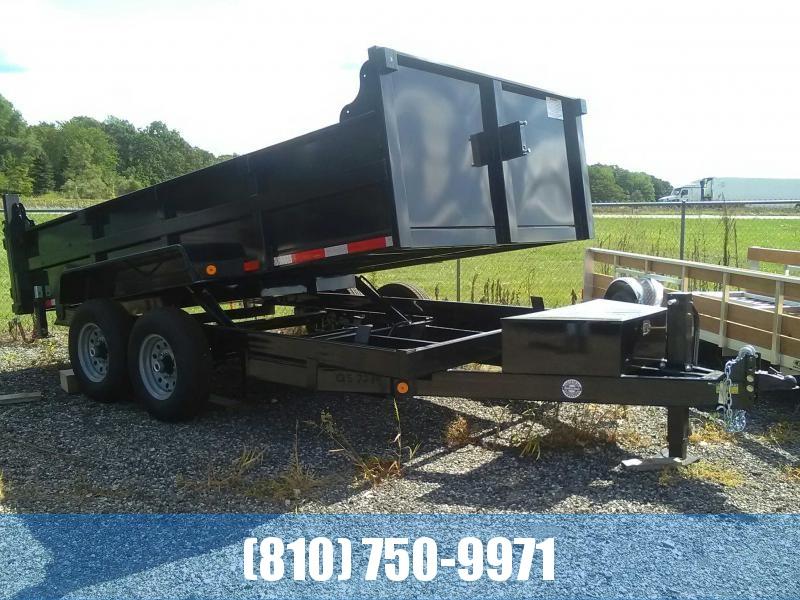 2020 Quality Steel 7x14 Dump Trailer