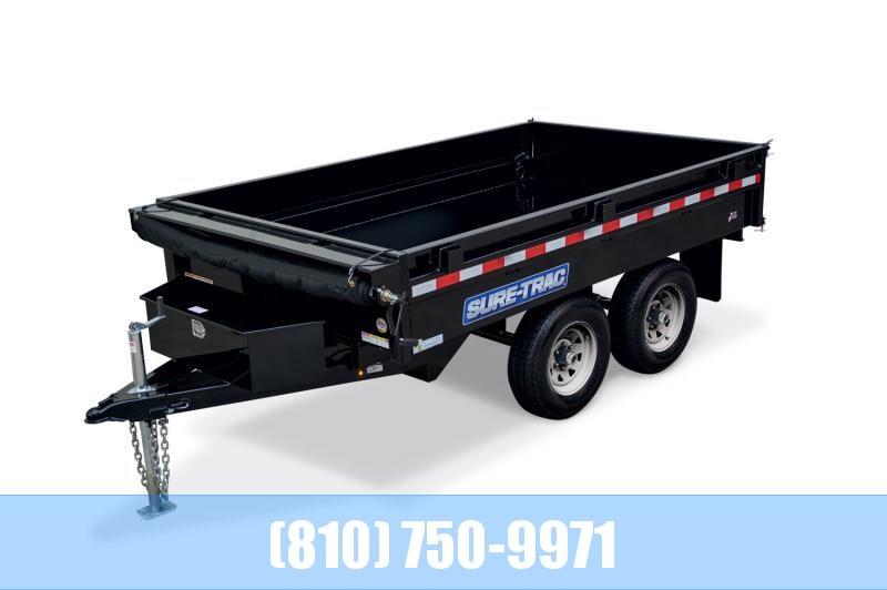 2020 Sure-Trac 6 X 10 7K SD Deckover Dump Dump Trailer