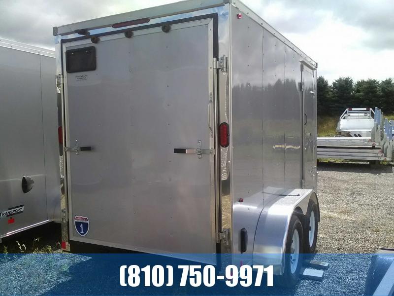 2020 Interstate  IFC 6x12 Tandem Axle Enclosed Cargo Trailer