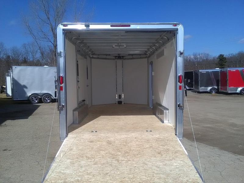 2020 Legend 8x19 Deluxe V-Nose with Gull Wing Enclosed Cargo Trailer