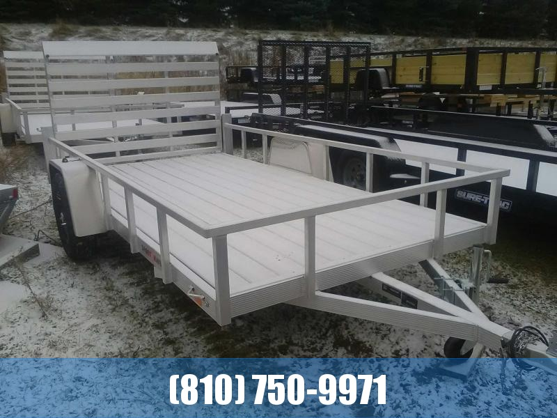 2020 Sport Haven 6x12 All Aluminum Utility Trailer