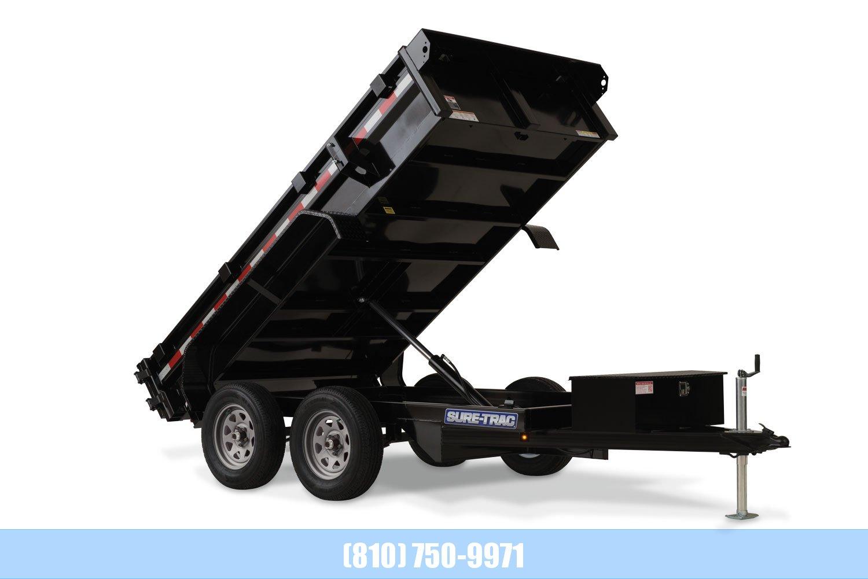 2020 Sure-Trac 5 x 10 Low Profile Dump 7K Single Ram