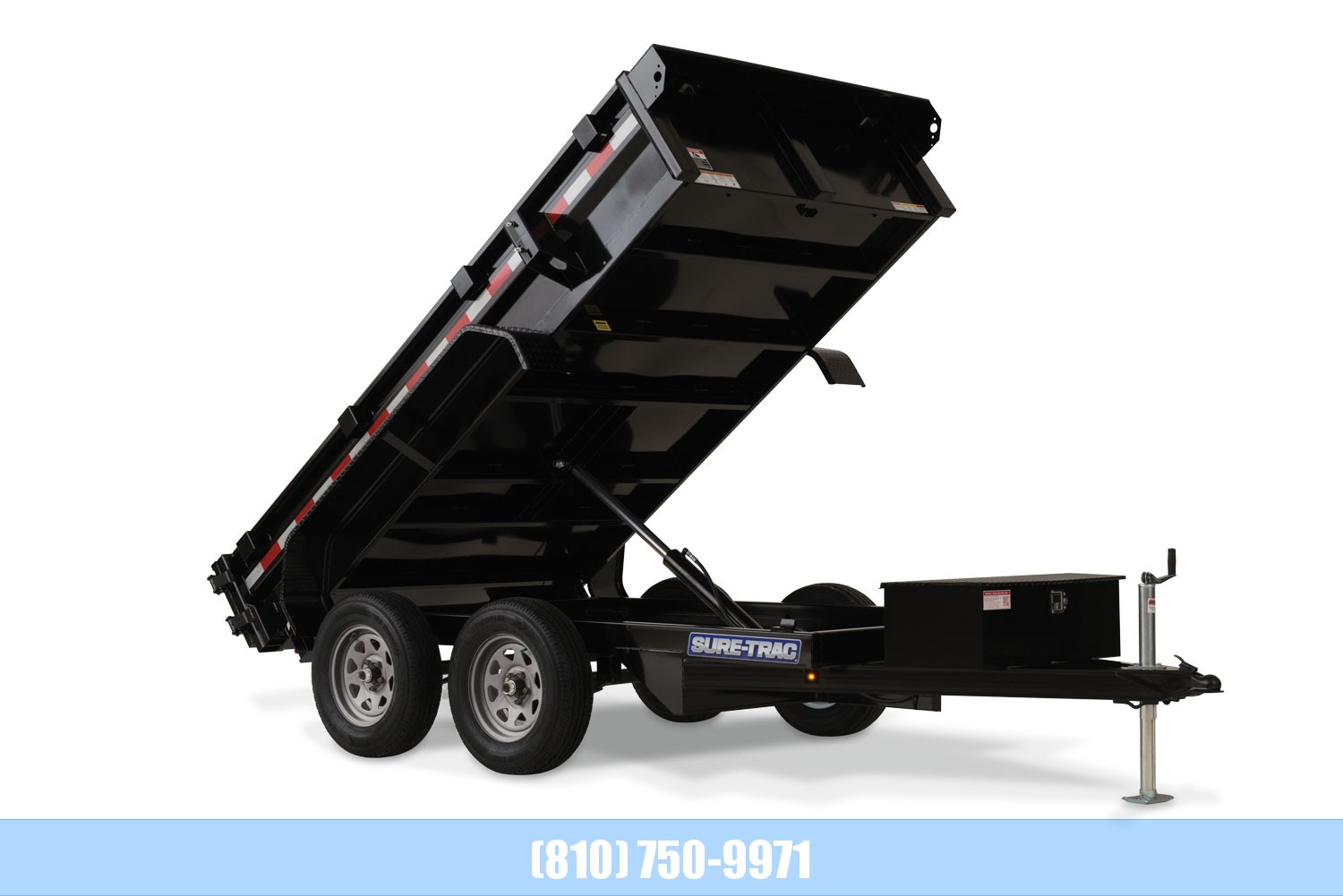 2020 Sure-Trac 5 x 10 Low Profile Dump 7K Single Ram