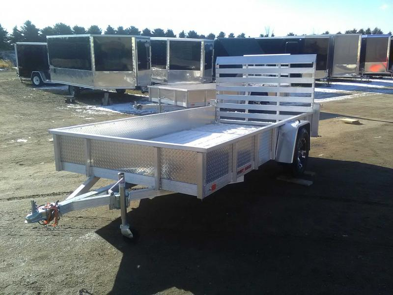 2020 Sport Haven All-Aluminum 6x12 Utility Trailer with Sides