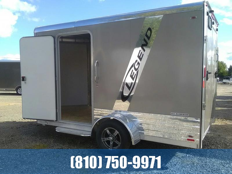 2019 Legend 7x15 Deluxe V-Nose Aluminum Enclosed Trailer