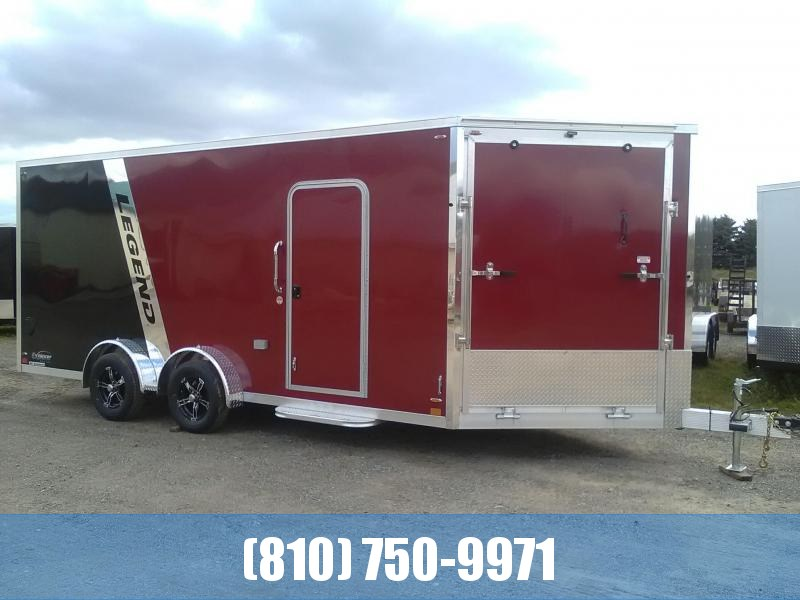 2020 Legend Manufacturing 7.5x23 Explorer Snowmobile Trailer