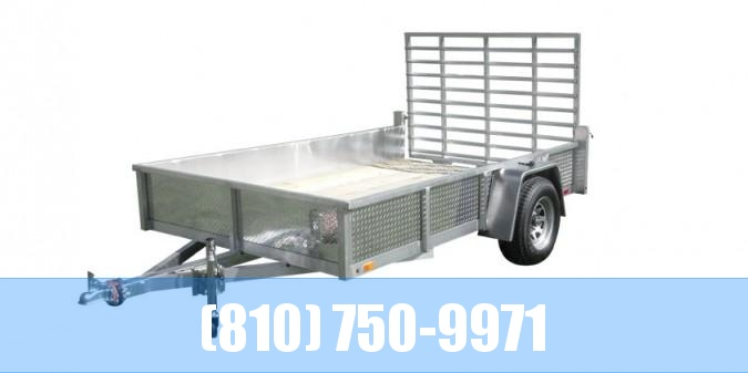2020 Sport Haven 6x12 Aluminum Utility Trailer with Sides