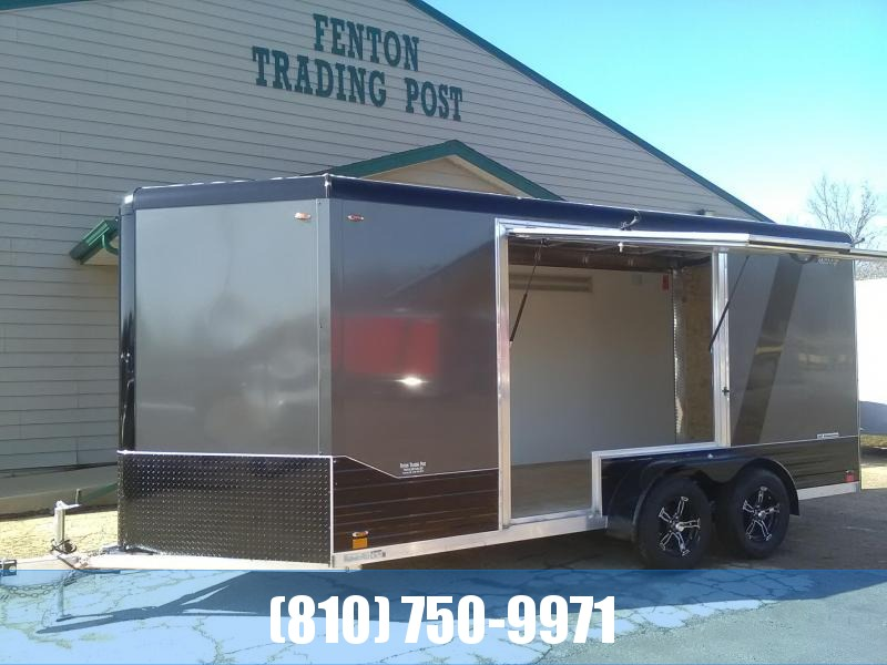 2020 Legend 7x19 Enclosed Cargo Trailer with Gull Wing Escape Door