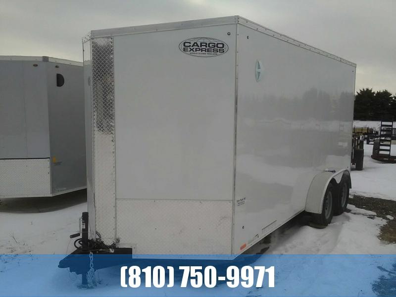 2021 Cargo Express 7x16 Cargo / Enclosed Trailer