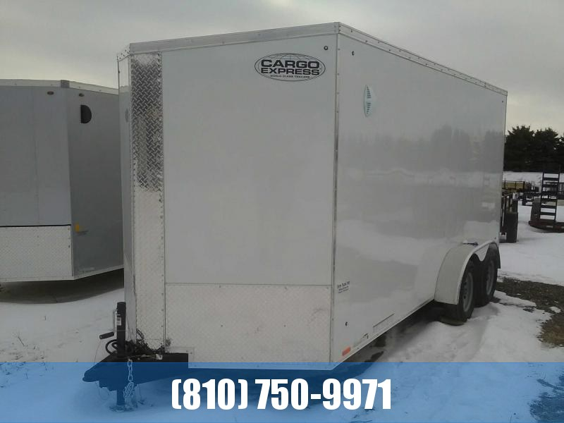 2021 Cargo Express 7x16 Cargo / Enclosed Trailer