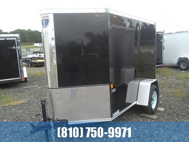 2019 Interstate 5x8 Enclosed Trailer