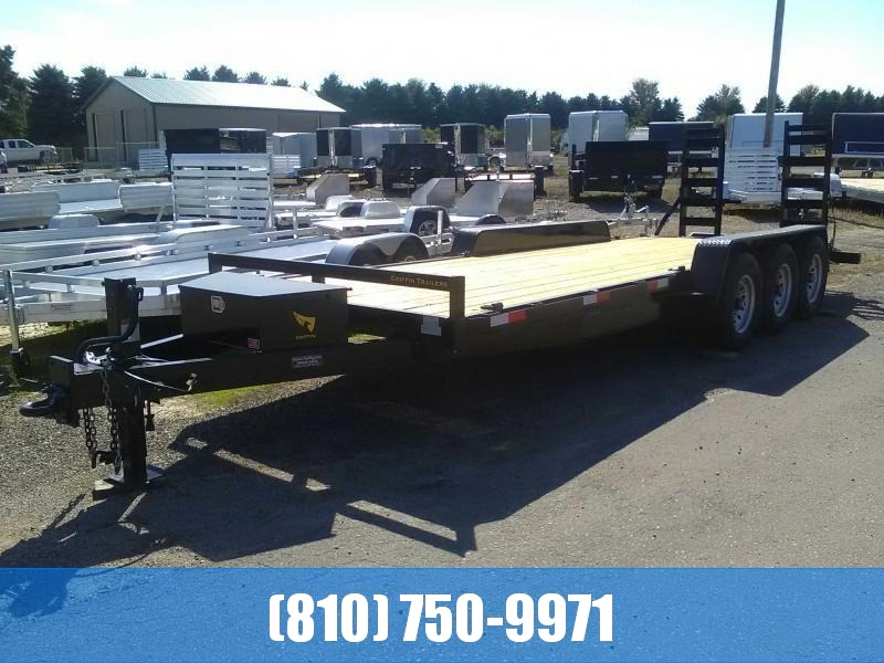 2020 Griffin GT 7x22 21K Tri-Axle Equipment Trailer