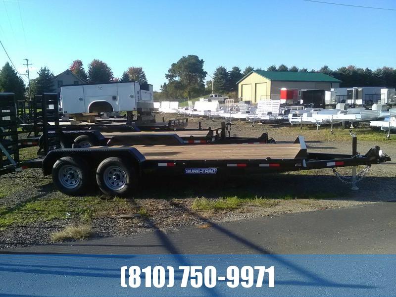 2020 Sure-Trac 7 x 20  Equipment Trailer  10K