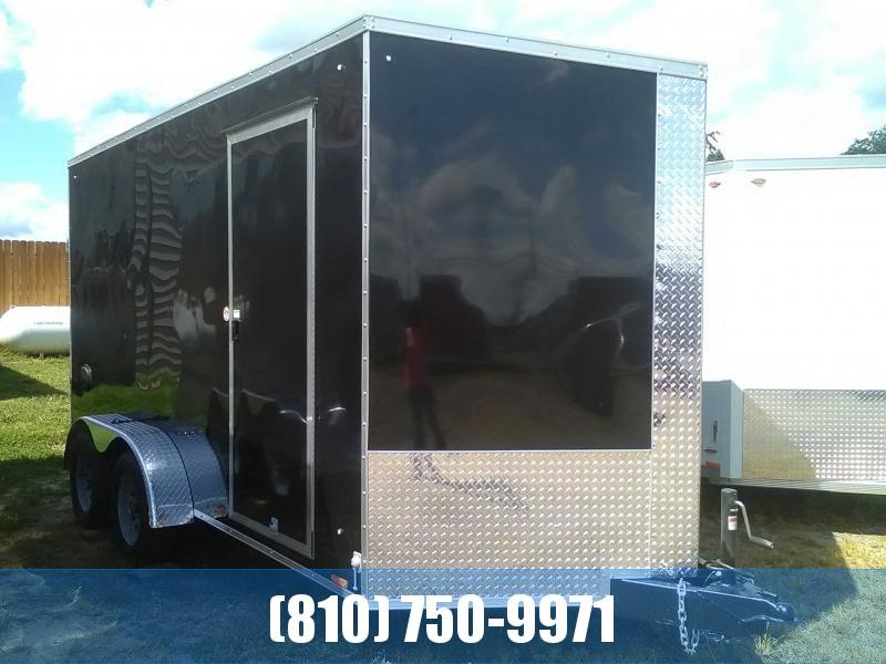 2020 Cargo Express 7x14 Enclosed Trailer