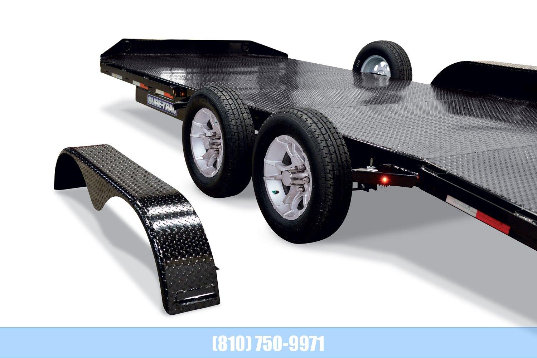 2020 Sure-Trac 7 x 18 Steel Deck Car Hauler  7k