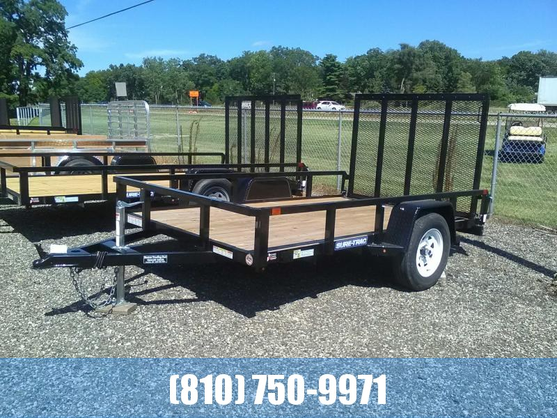2019 Sure-Trac 6X10 Tube Top Utility Trailer