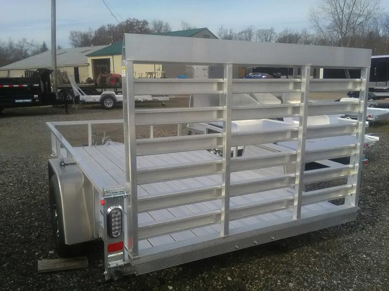 2020 Sport Haven 6x10 All-Aluminum Utility Trailer