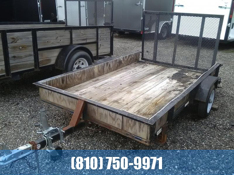 Used 2005 Other (Unknown Make) 5x8 Utility Trailer