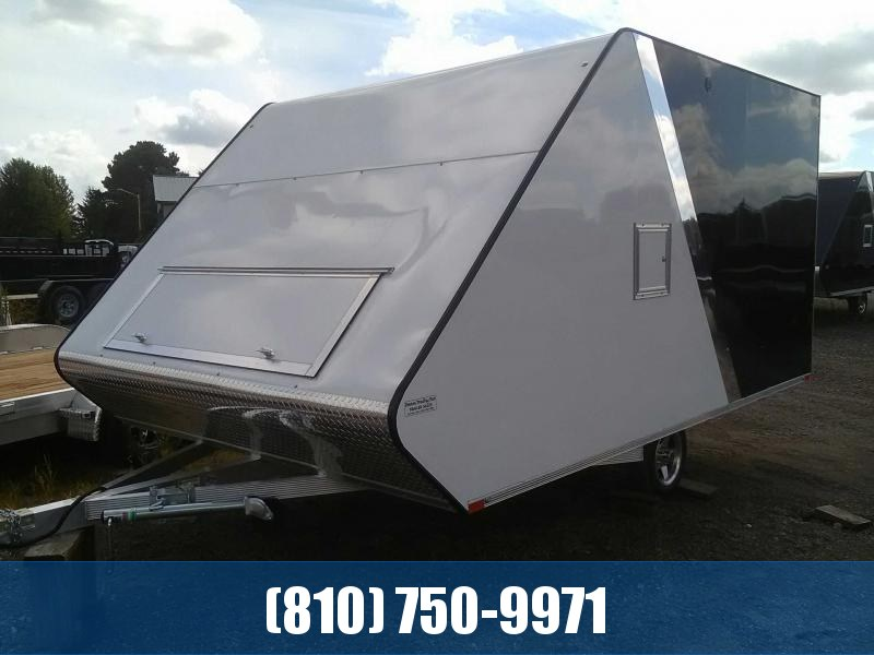 2020 Sport Haven 8.5x13' Hybrid Snowmobile Trailer