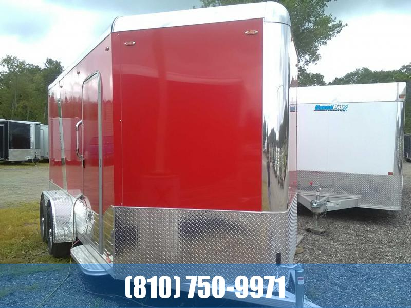 2019 Legend 719 Deluxe V-Nose All-Aluminum Enclosed Trailer