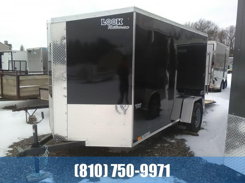 2020 Look 6x12 Enclosed Cargo Trailer