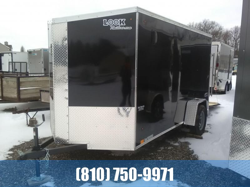 2020 Look 6x12 Enclosed Cargo Trailer