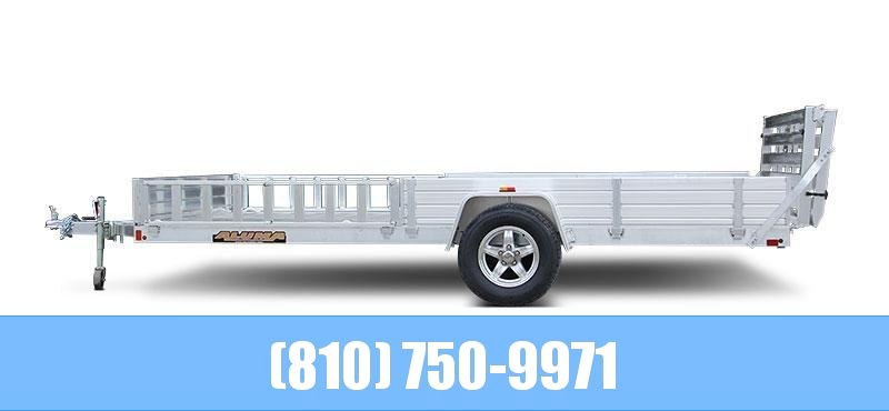 2021 Aluma 8114SR Utility Trailer with Side Loading Ramps