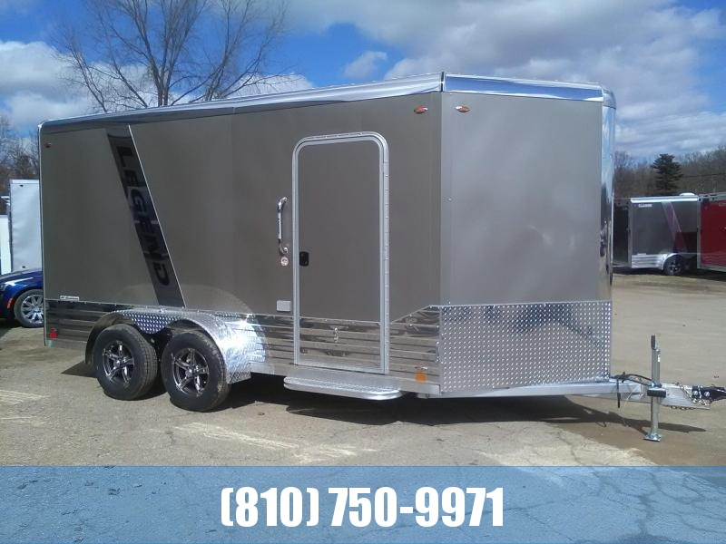 2020 Legend Manufacturing 7x17 Deluxe V-Nose Enclosed Cargo Trailer