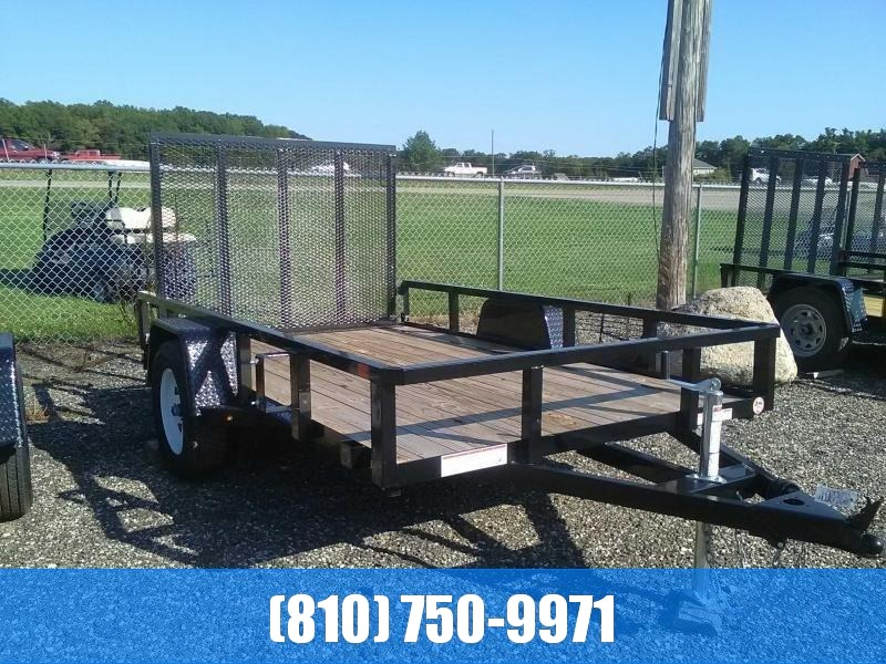 2020 Sure-Trac 6X10 Tube Top Utility Trailer