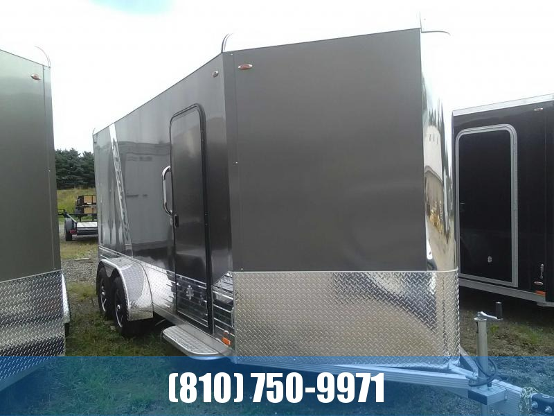 2020 Legend 7x19 Deluxe V-Nose All-Aluminum Enclosed Trailer